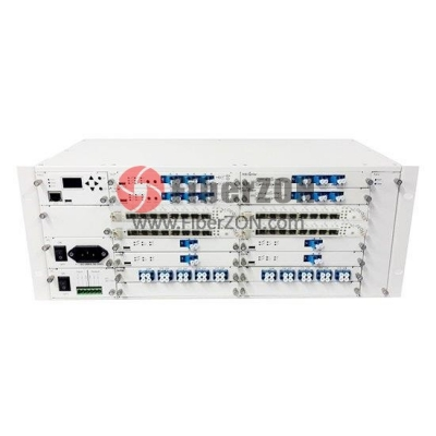 4U Multiplex Managed Chassis Unloaded, Supports up to 16x Multiplexer/EDFA/OEO/OLP Card