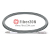 5M LC UPC to SC UPC Simplex 3.0mm PVC(OFNR) OM1 Multimode Armored Fiber Optic Patch Cable