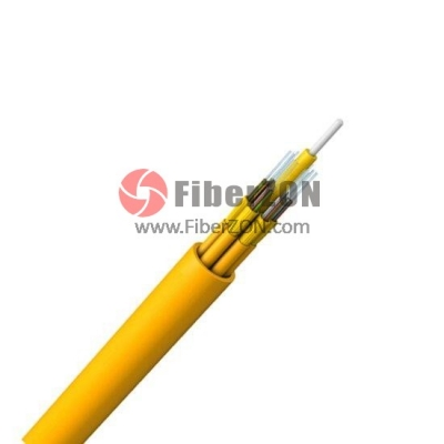 12 Fibers Singlemode 9/125 OS2, Riser, Unitized TightBuffered Distribution Indoor Cable GJPFJH