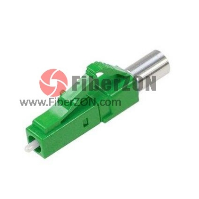 LC/APC 9/125m Singlemode Low Reflection Fiber Optic Terminator Connector