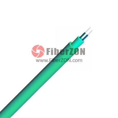 Duplex Multimode 50/125 OM4, LSZH, Corning Fiber, Single Jacket Round Indoor TightBuffered Interconnect Fiber Optical Cable
