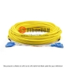 24 Fibers ST to ST 9/125 Single Mode MultiFiber PreTerminated Breakout Trunk Cable