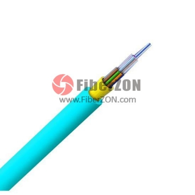 24 Fibers Multimode 50/125 OM2, Riser, FRP Strength Member, Nonunitized, TightBuffered Distribution Indoor Fiber Optical Cable GJPFJV