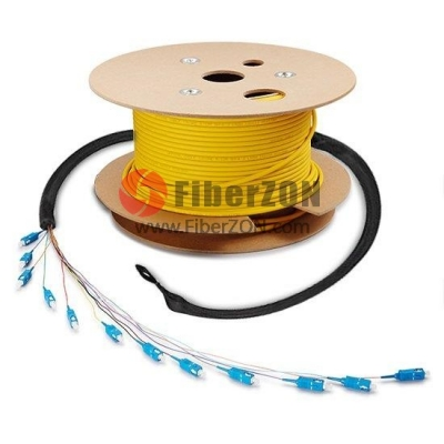 24 Fibers Custom Indoor/Outdoor Single mode PreTerminated Assembly