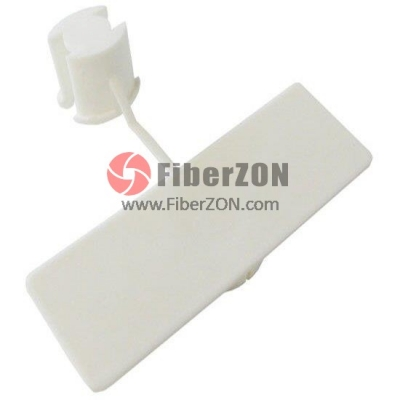 White ID Cable Labels, Inside Flag 1000pcs/pack