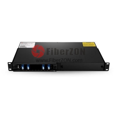 1 Channel C21 Single Fiber DWDM OADM EastandWest, 2slot 1U Rack Mount, LC/UPC