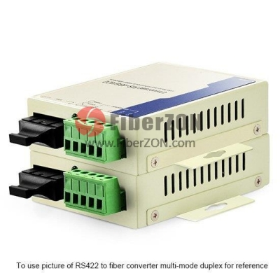 Custom Industrial Duplex Serial to Fiber Converter