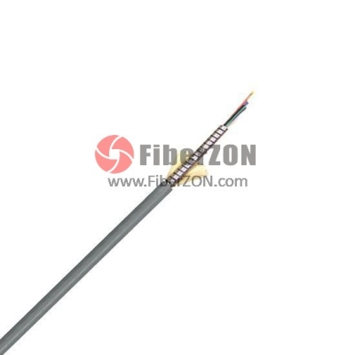 12 Fibers Multimode 50/125 OM2, LSZH, SingleArmored Indoor TightBuffered Breakout Fiber Optical Cable MFAC