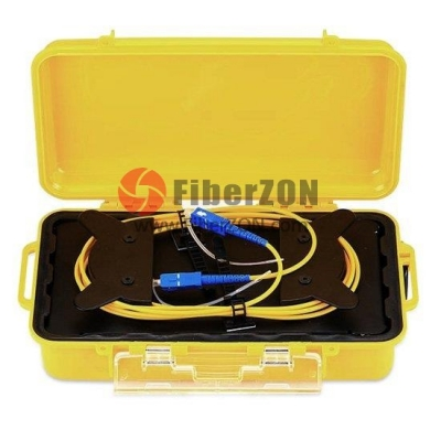Fiber Optic OTDR Launch Cable Box, Singlemode 150m SC/UPC SC/UPC Fiber