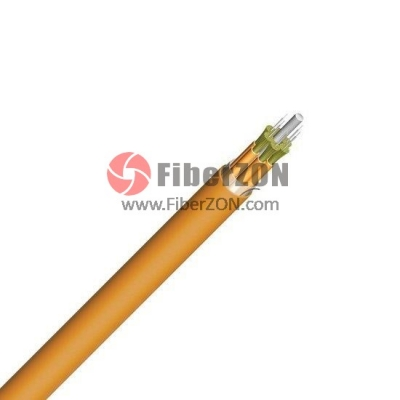 900m SingleFiber Multimode 50/125 OM2, Riser, Indoor TightBuffered Interconnect Fiber Optical Cable