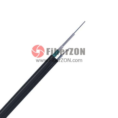 Custom 224 Fibers SingleArmored SingleJacket, Central Loose Tube, Figure 8 Selfsupporting Aerial Waterproof Outdoor Cable GYXTC8S