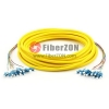 12 Fibers LC to LC 9/125 Single Mode MultiFiber PreTerminated Breakout Trunk Cable