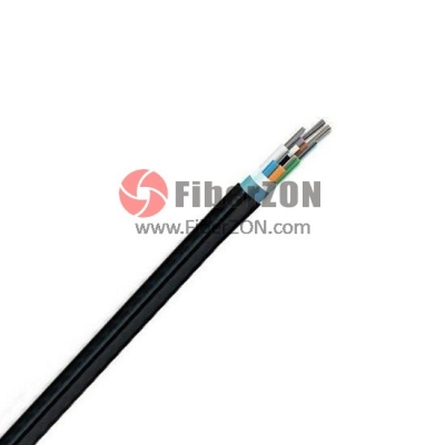 24 Fibers Singlemode 9/125 OS2, SingleArmored SingleJacket, Ribbon Loose Tube Waterproof Outdoor Cable GYDTA