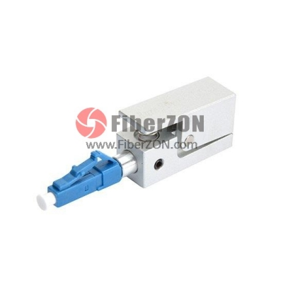 LC Bare Fiber Optic Adapter