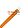 Zipcord Multimode 62.5/125 OM1, LSZH, Corning Fiber, Indoor TightBuffered Interconnect Fiber Optical Cable