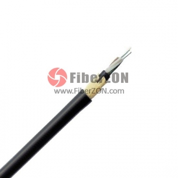 24 Fibers Multimode 62.5/125 OM1, PE Jacket Span 100M, Stranded Loose Tube, ADSS Waterproof Outdoor Cable GYFTCY