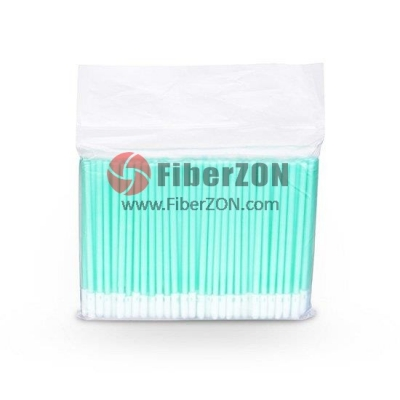 2.5mm Fiber Optic Mini Foam Clean Swabs (100pcs/Pack)