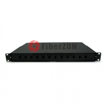 24 Fibers Sliding Rack Mounted Fiber Optic Terminal Box as Distribution Box FS/JJCL/2SC2424C