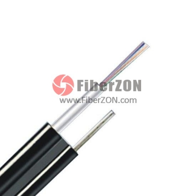 24 Fibers Singlemode 9/125 OS2, Central Loose Tube, Figure 8 Selfsupporting Aerial Waterproof Outdoor Cable GYXTC8Y
