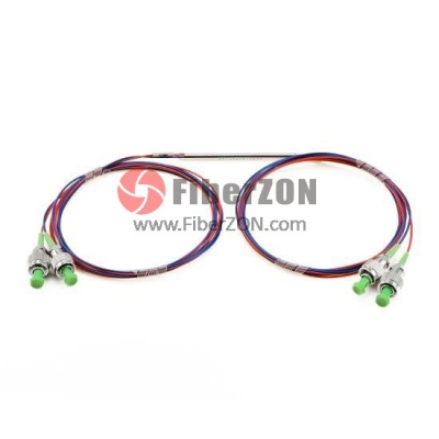 2X2 FBT Splitter Singlemode Dual Window 0.9mm Fiber with Loose Tube, FC/APC