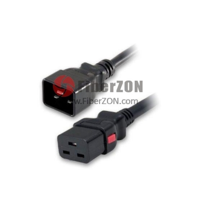 14AWG 250V/15A Power Cord (Locking C20 to C19)