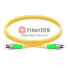 1M FC APC to FC APC Duplex 2.0mm LSZH 9/125 Single Mode Fiber Patch Cable
