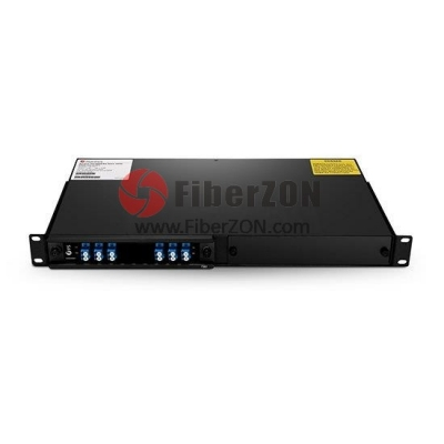 2 Channels C21C24 Single Fiber DWDM OADM EastandWest, 2slot 1U Rack Mount, LC/UPC