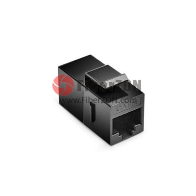 Cat5e RJ45 (8P8C) Unshielded Coupler Keystone Insert Module Black