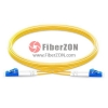 1M LC UPC to LC UPC Duplex 2.0mm OFNP 9/125 Single Mode Fiber Patch Cable