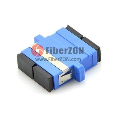 SC/UPC to SC/UPC Duplex OM3/OM4 Plastic Fiber Optic Adapter, 0.2dB IL