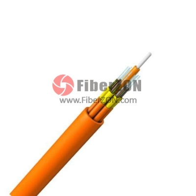24 Fibers Multimode 62.5/125 OM1, Riser, Unitized TightBuffered Distribution Indoor Cable GJPFJH
