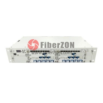 2U Multiplex Managed Chassis Unloaded, Supports up to 8x Multiplexer/EDFA/OEO/OLP Card