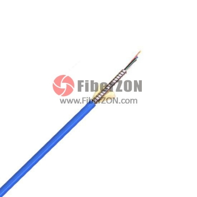Custom 124 Fibers SingleArmored Indoor TightBuffered Breakout Fiber Optical Cable