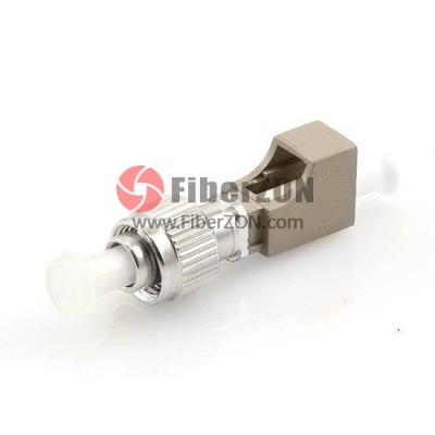 LC Female to FC Male Simplex 50/125m Fiber Optic Adapter