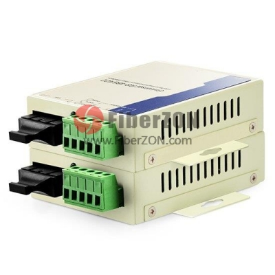 Custom Industrial Simplex Serial to Fiber Converter