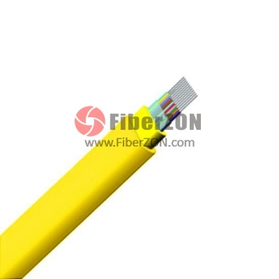 Custom 6288 Fibers LSZH Indoor Ribbon Fiber Optical Cable GJFDBV