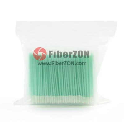 1.25mm Fiber Optic Mini Foam Clean Swabs (100pcs/Pack)