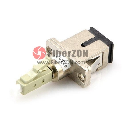 SC Female to LC Male Simplex 50/125m Adapter Converter