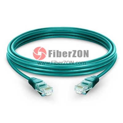 Cat6 Snagless Unshielded (UTP) Ethernet Network Patch Cable, Green PVC, 1.5m (4.92ft)