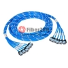 6 Jack to 6 Jack CAT5e Unshielded PreTerminated Copper Trunk Cable