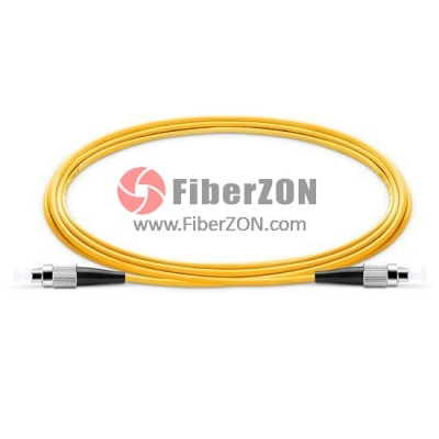 8M FC UPC to FC UPC Simplex 2.0mm PVC(OFNR) 9/125 Single Mode Fiber Patch Cable