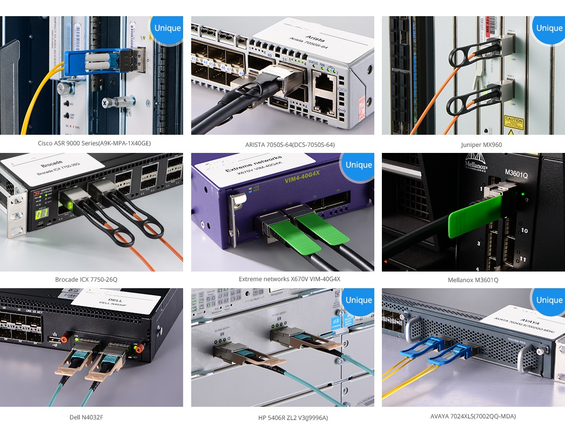 Dlink Demqx01qsr4 Compatible 40gbasesr4 Qsfp 850nm 150m Dom Plenum Fiber Optic Cable 40 Gigabit Ethernet To Mtp Quality Control System