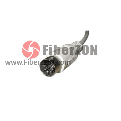 DIN UPC Simplex 9/125 Singlemode Fiber Optic Connector
