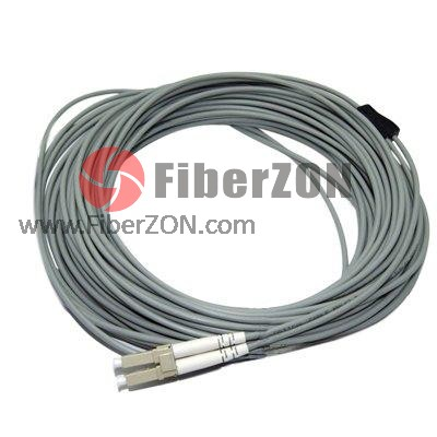 Simplex 62.5/125 Multimode LC/SC/ST/FC Armored Fiber Optic Pigtail
