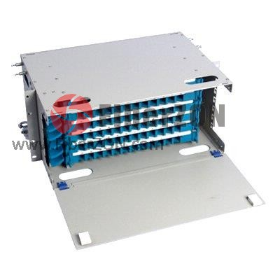 72 Fibers 19'' 4U Rack Mount Optical Distribution Frame (ODF) , Unloaded