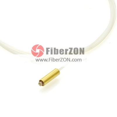2 M Single Fiber 1550nm Clens Goldplated Tube Premim Fiber Collimator 5mm WD 250m