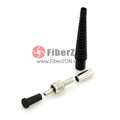 High Power SMA905 Fiber Optic Connector