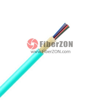 Custom 424 Fibers, LSZH, Nonunitized TightBuffered Distribution Indoor Fiber Optical Cable GJFJV